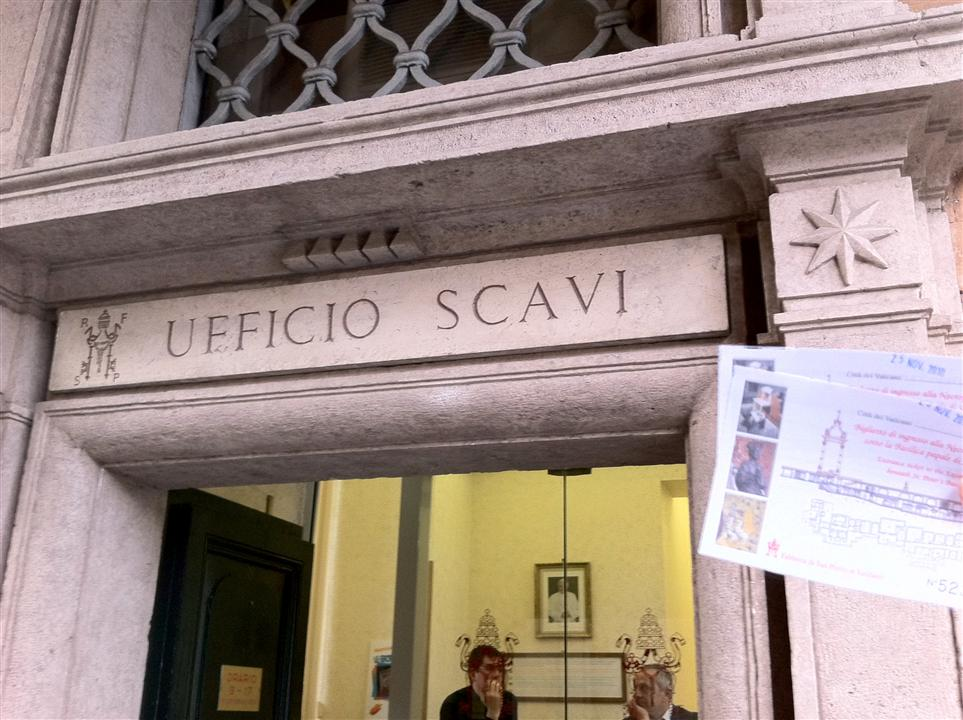 Vatican Scavi ticket image