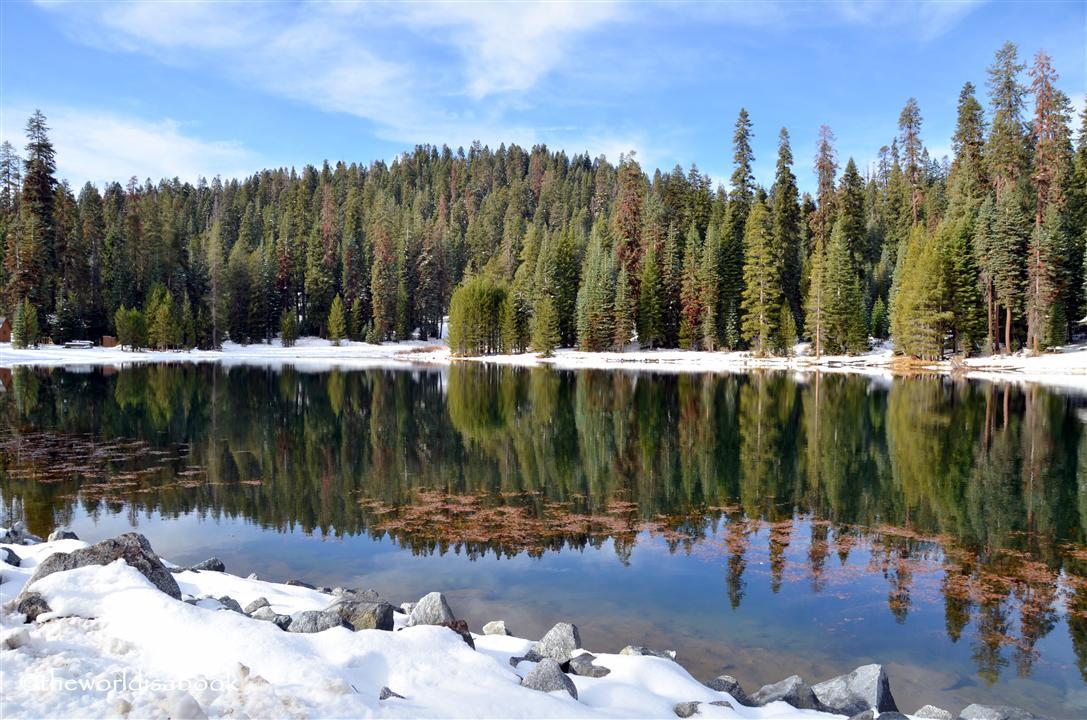 Sequoia National Park lake