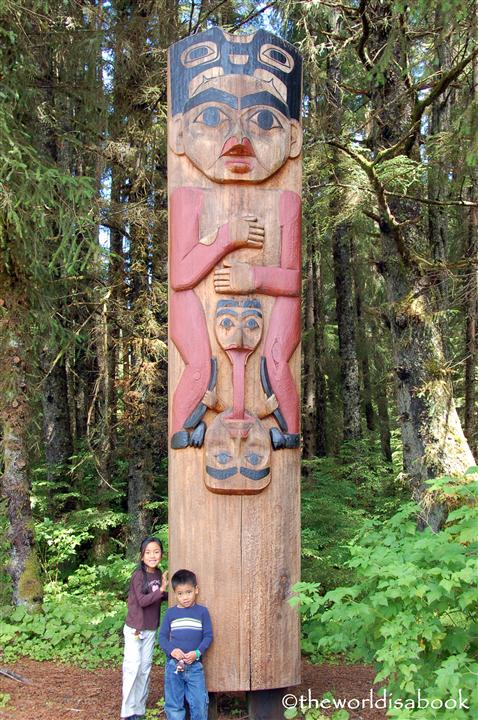 Sitka National Historical Park totem