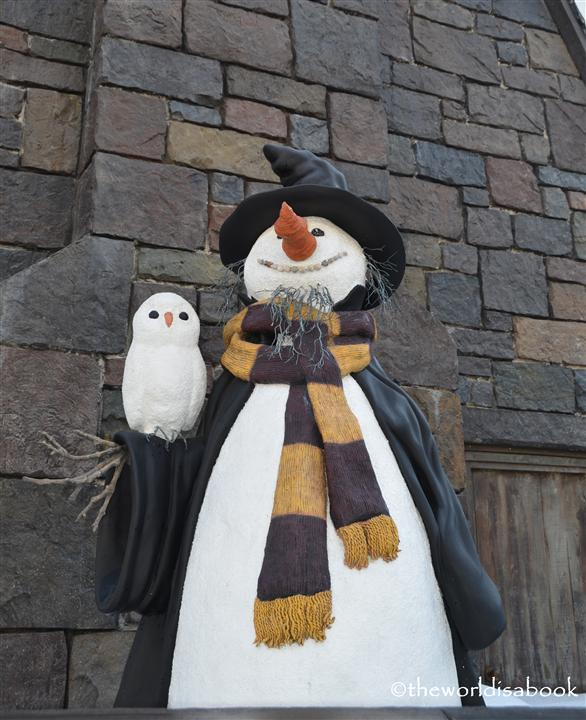 Wizarding world of Harry potter snowman