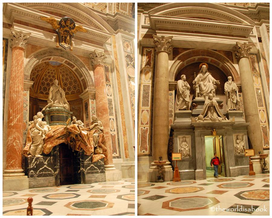 St Peter's Basilica sculptures