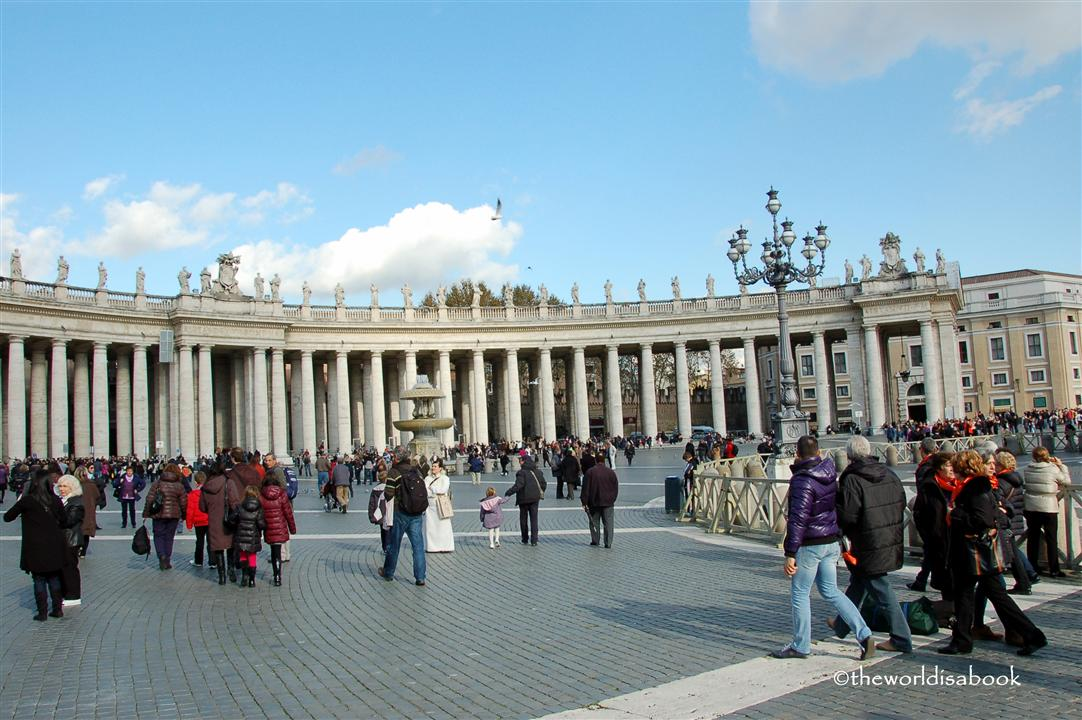 St Peter's Square Colonnade image