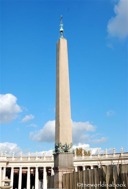St Peter's Square obelisk