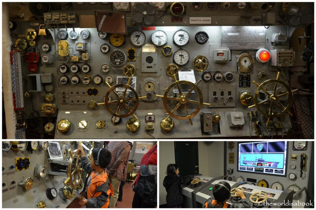 USS Midway Museum engine room