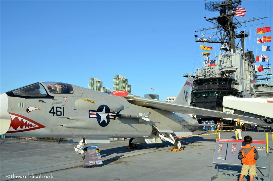 USS Midway flight deck image