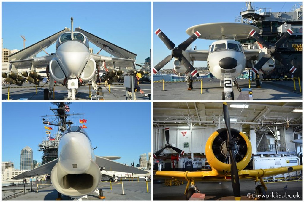 USS Midway planes image