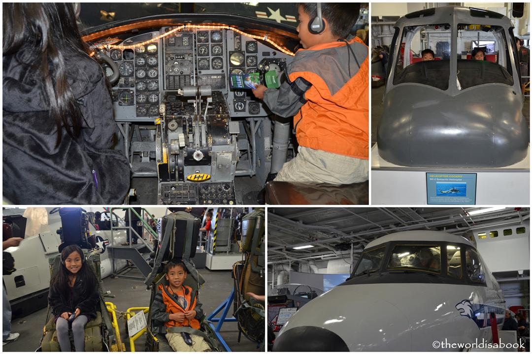 USS Midway museum with kids image