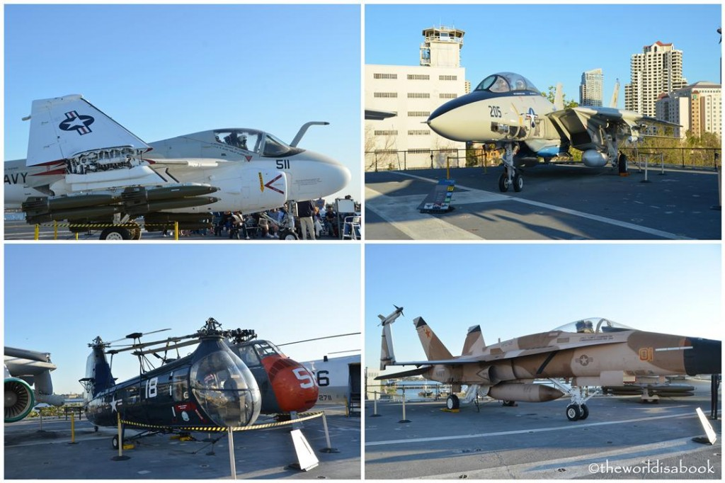 USS midway Museum flight deck