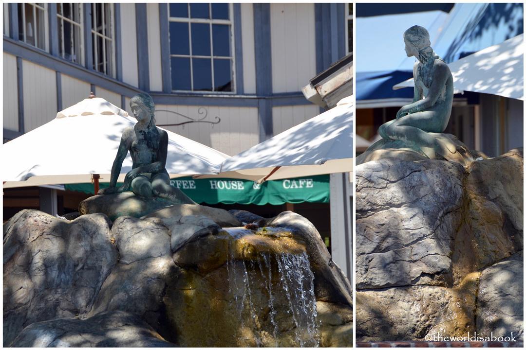 Solvang Little Mermaid statue image