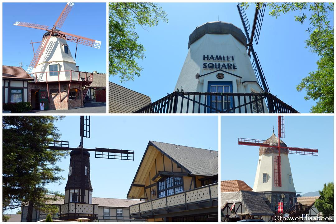 Solvang windmills image