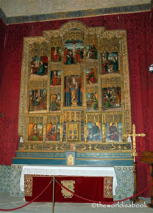 Alcazar of Segovia chapel