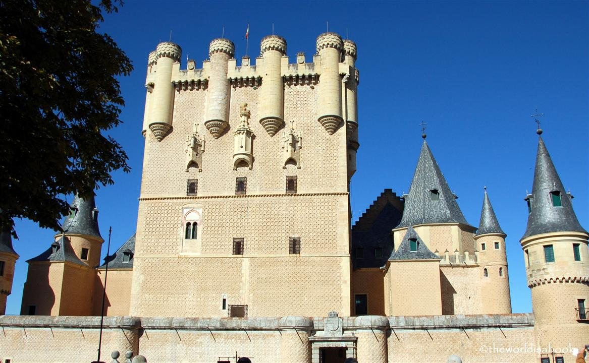 Alcazar of Segovia Tower of Juan II