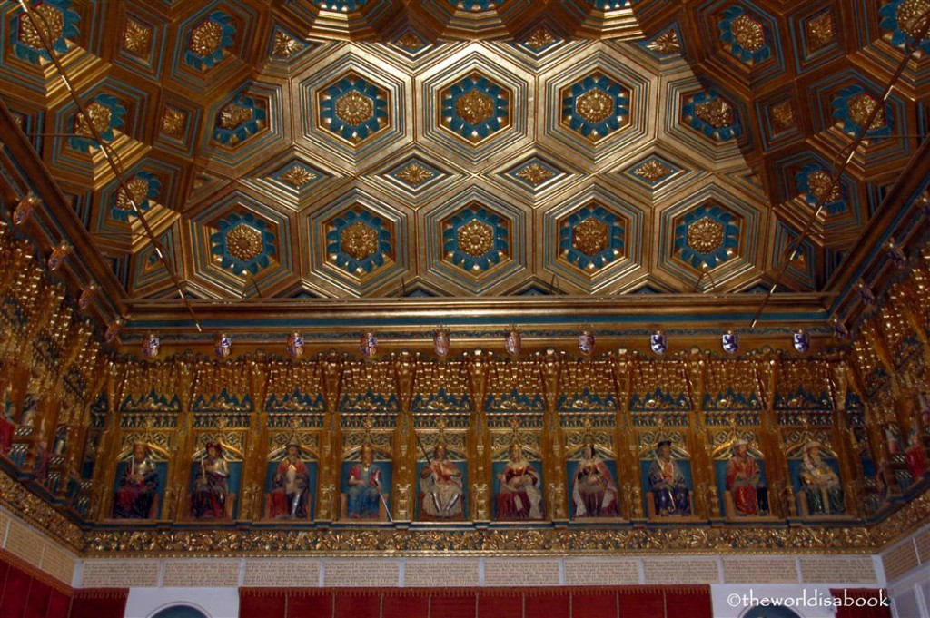 Alcazar of Segovia ceiling