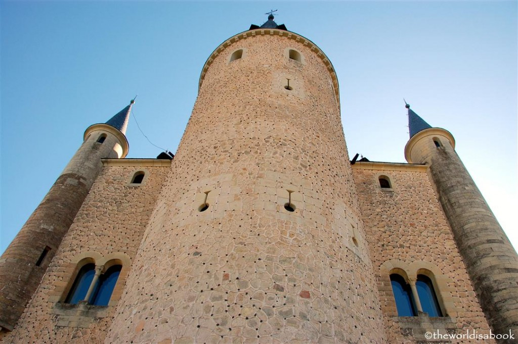 Alcazar of Segovia tower