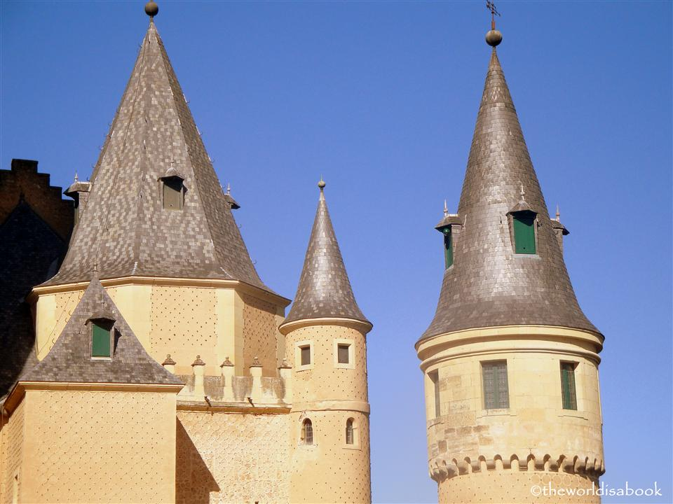 Alcazar of Segovia turret