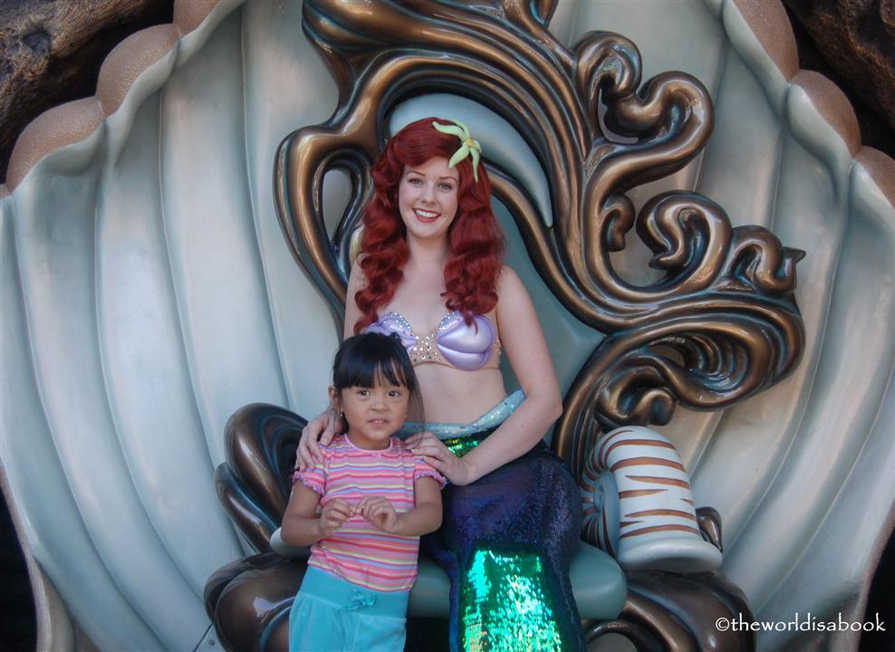 Ariel at Disneyland Fantasy Faire