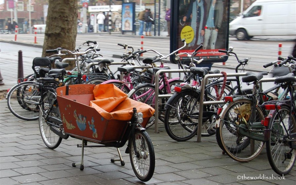Amsterdam bike buggy