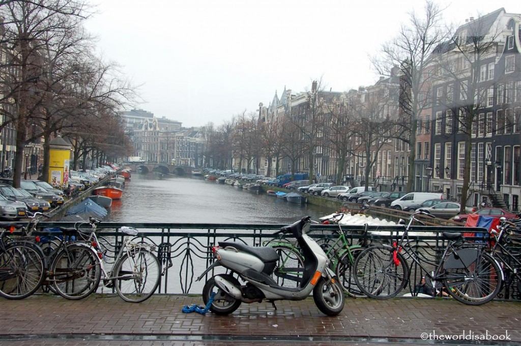 Amsterdam bike and scooter