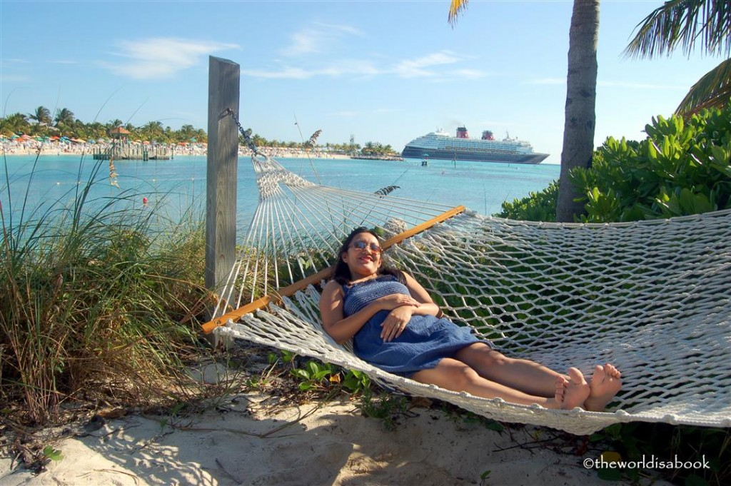 Disney Castaway cay hammock