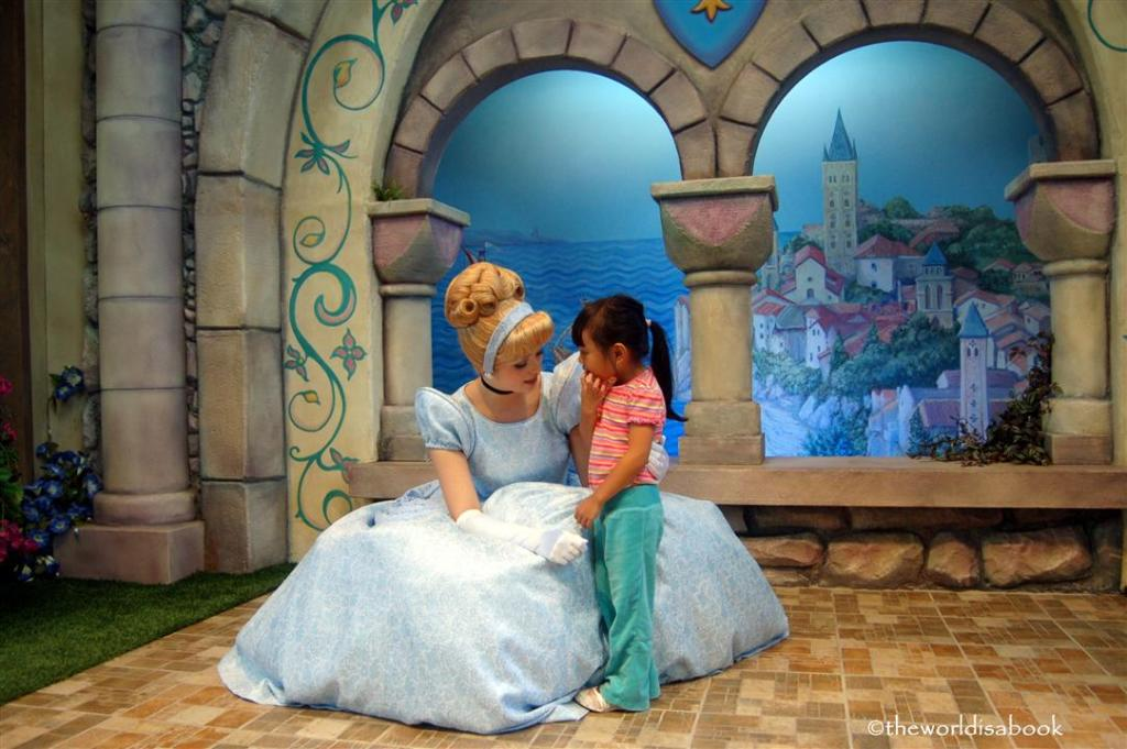 Cinderella at Disneyland Fantasy Faire