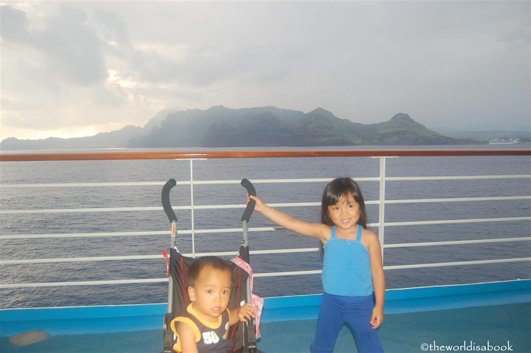 Cruising with kids hawaii