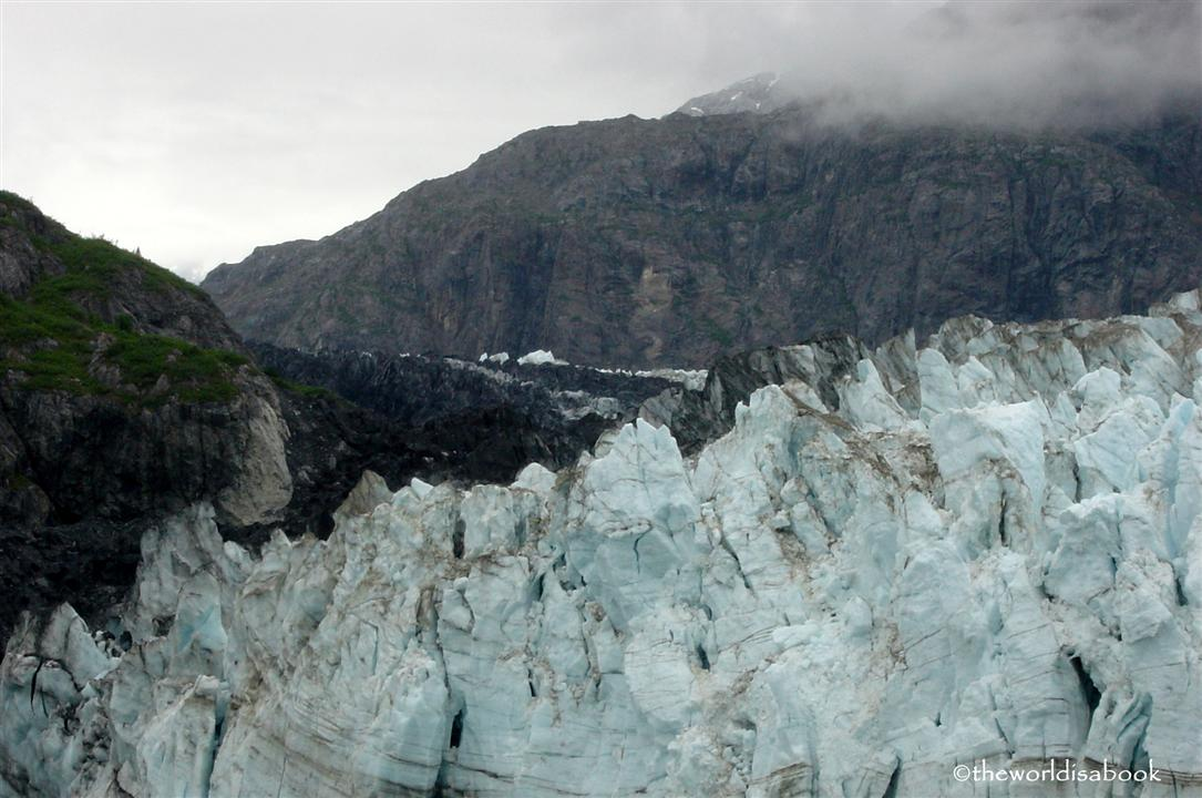 Mergerie with Grand Pacific Glacier