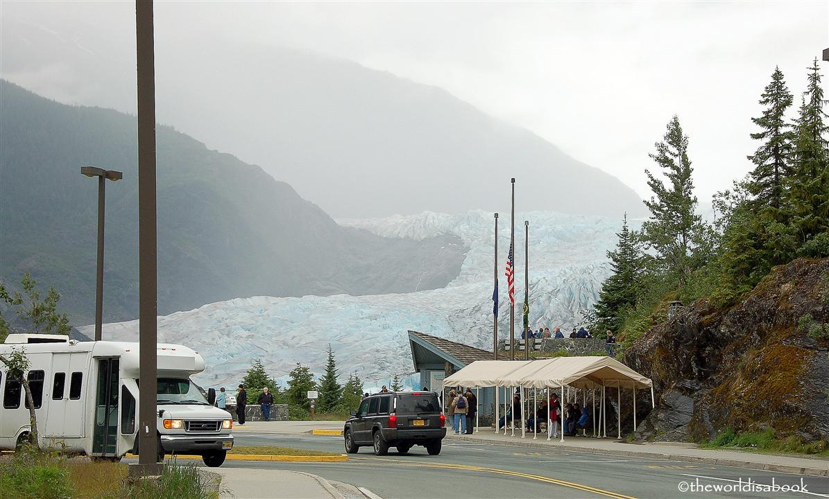 Mendenhall Glacier from the road