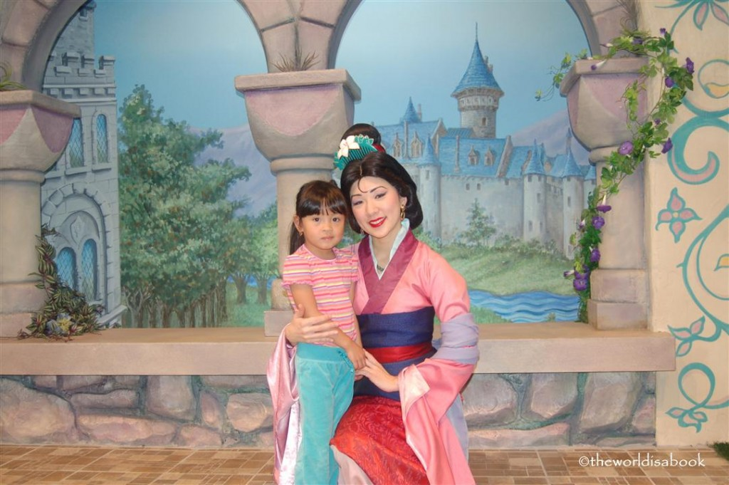 Mulan at Disneyland Fantasy Faire