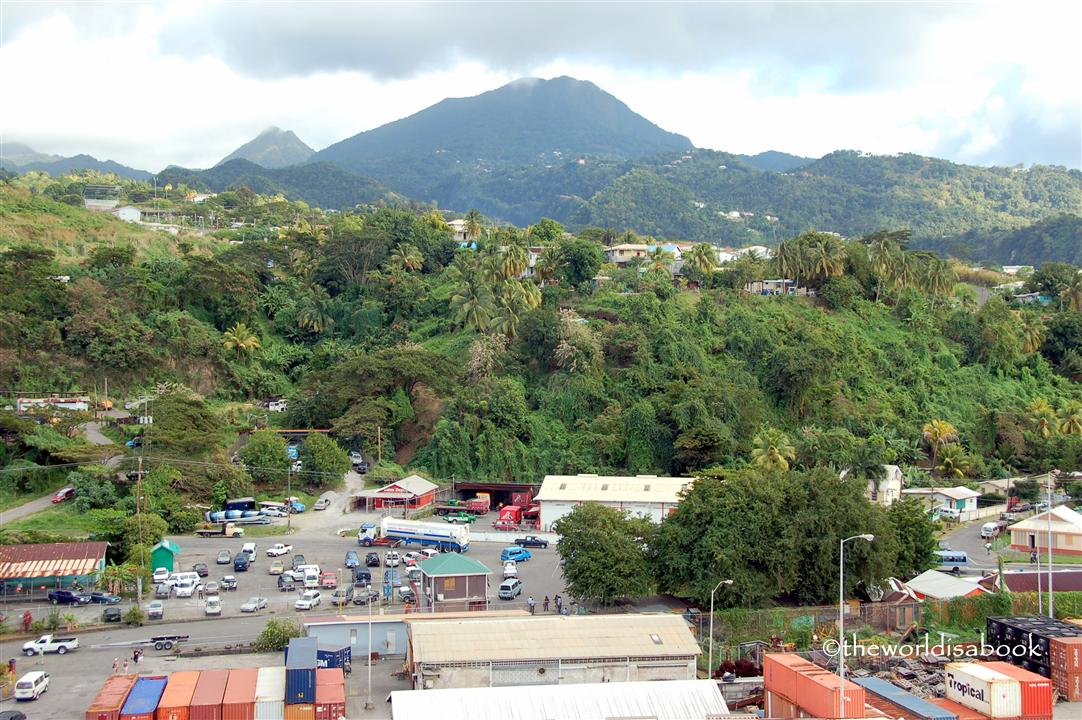 Dominica port view image
