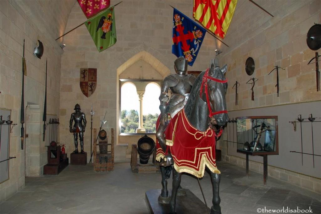 Alcazar of Segovia knight armor