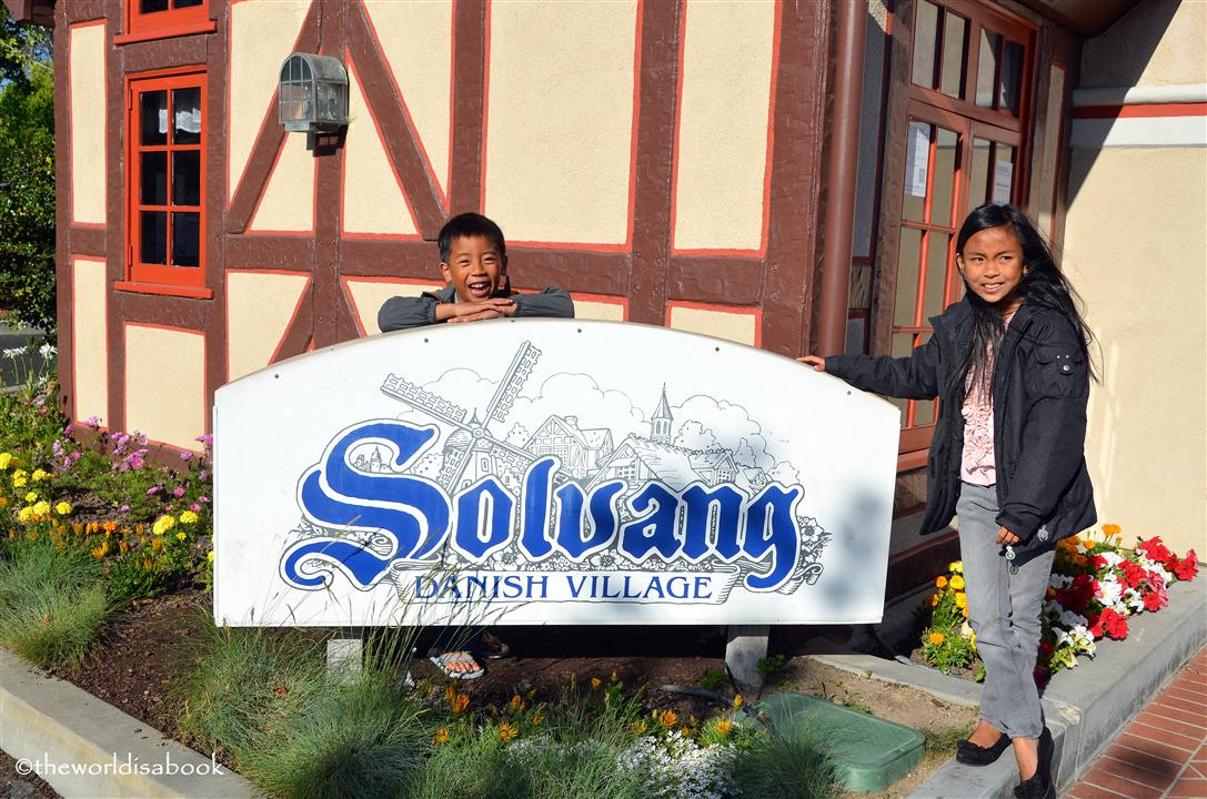 Solvang california sign image