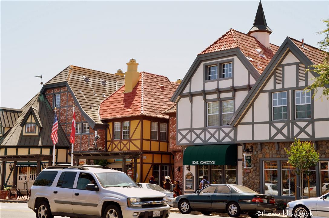 Solvang California street image