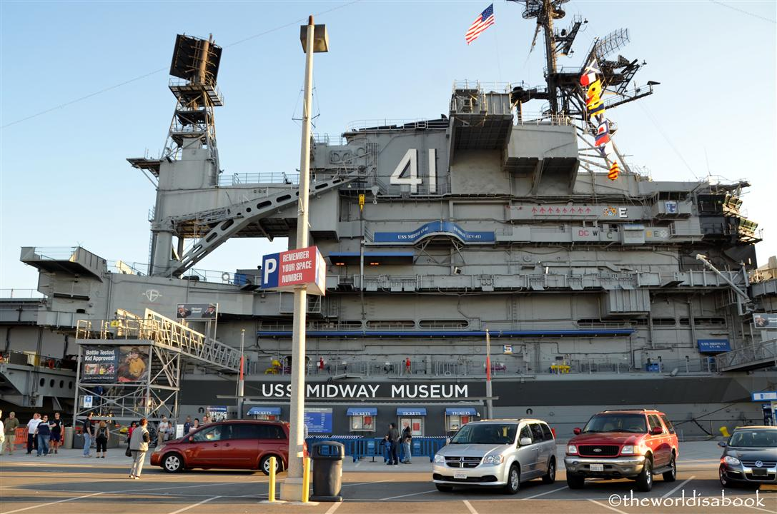 USS Midway museum front image