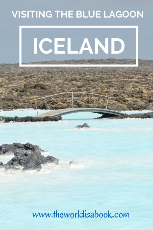 Blue Lagoon Iceland with kids
