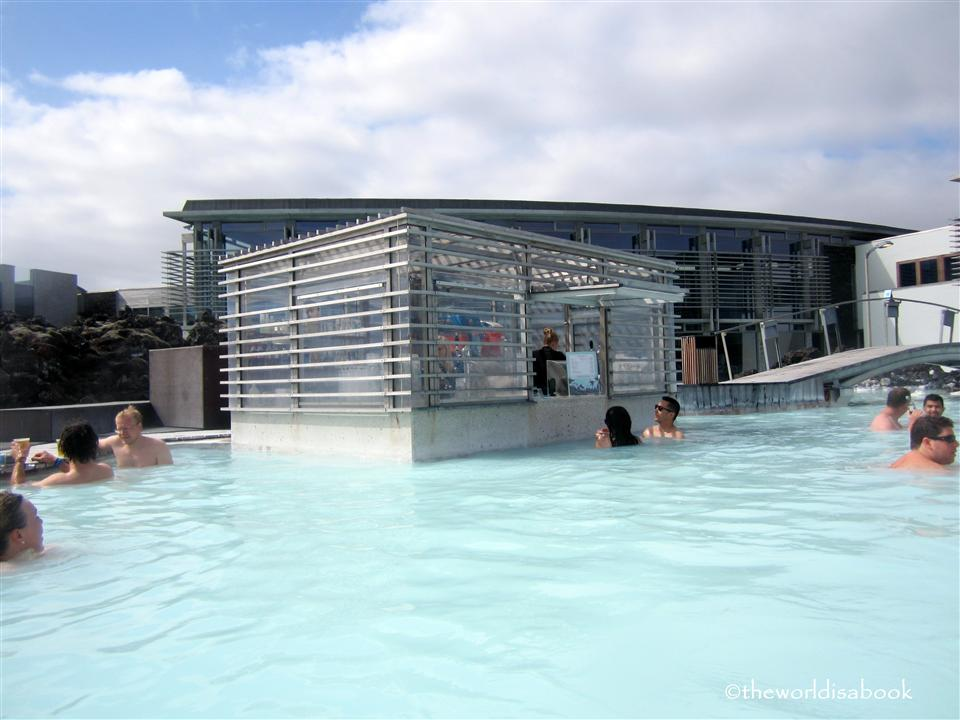 Iceland Blue Lagoon bar