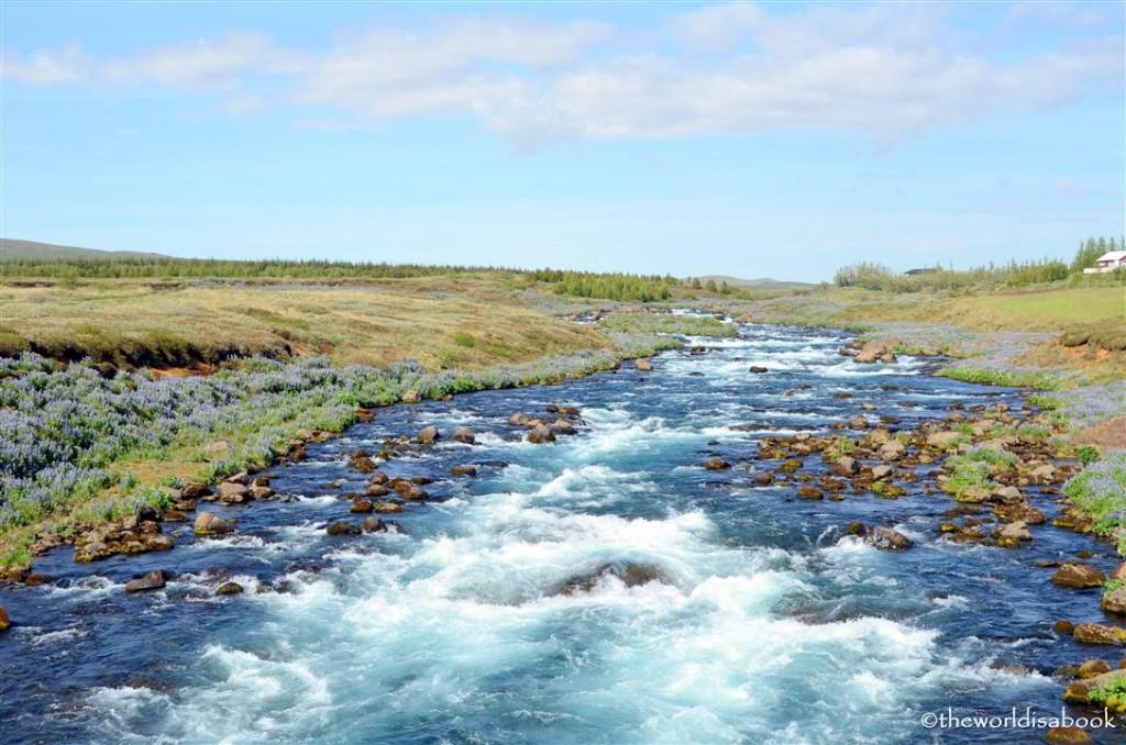iceland Golden circle river
