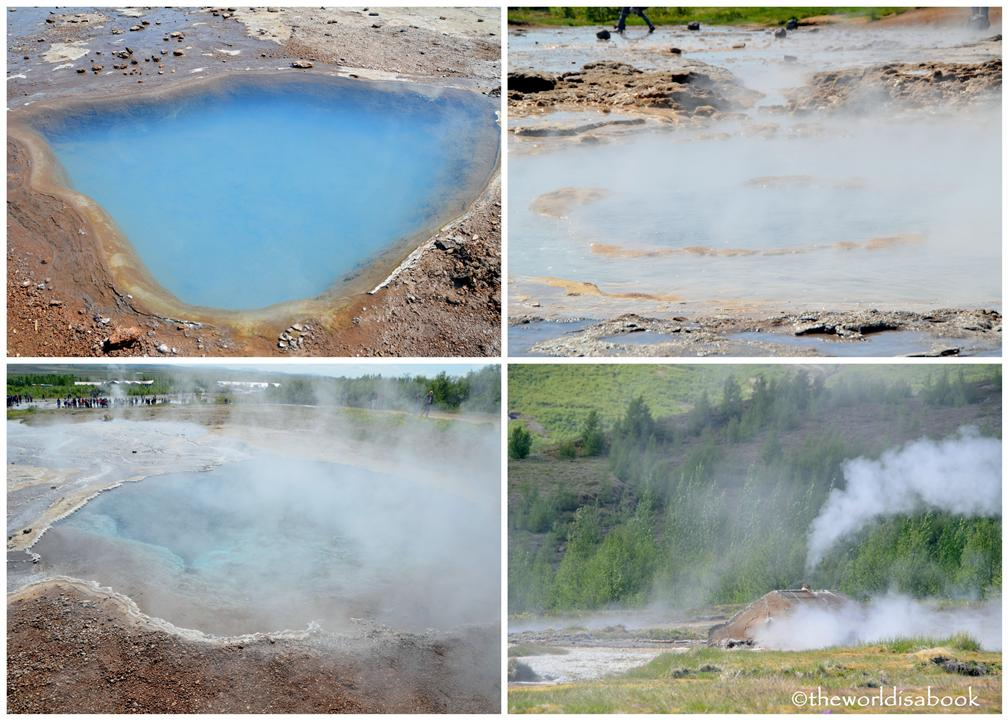 Iceland Golden Circle geothermal