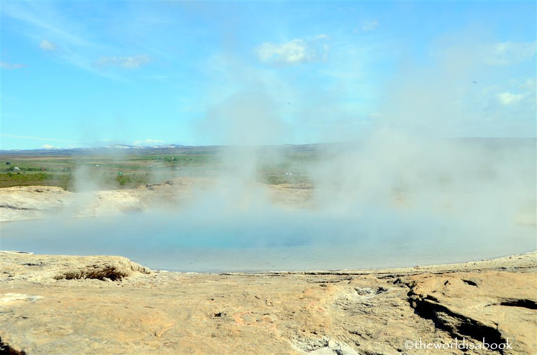 iceland Golden circle great geysir