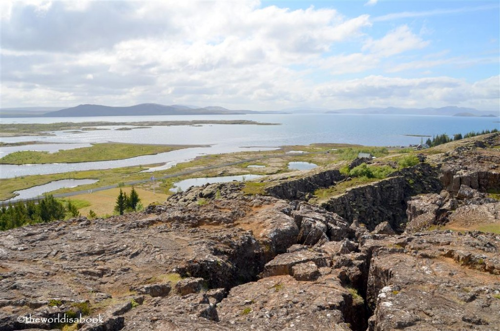Thingvellir tectonic drift