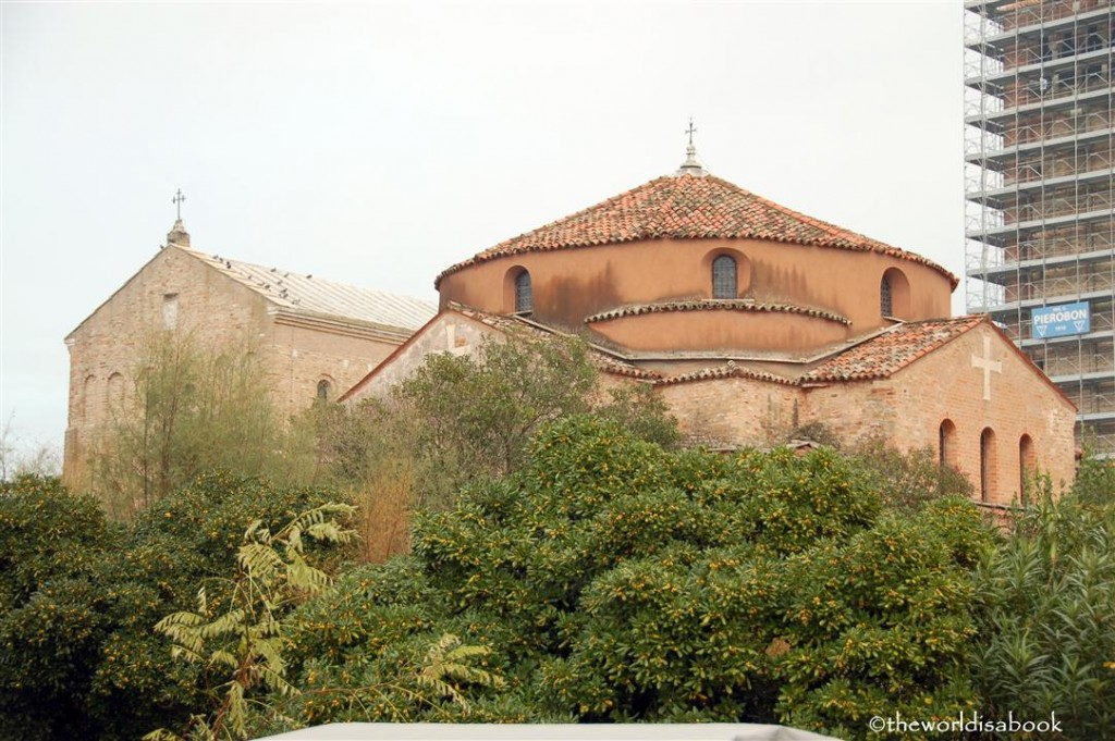 Torcello Italy church plaza image
