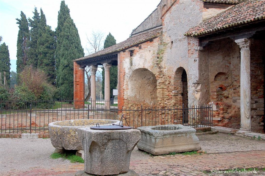 Torcello Italy grounds image