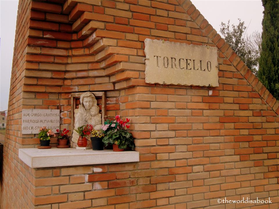 Torcello Italy sign image