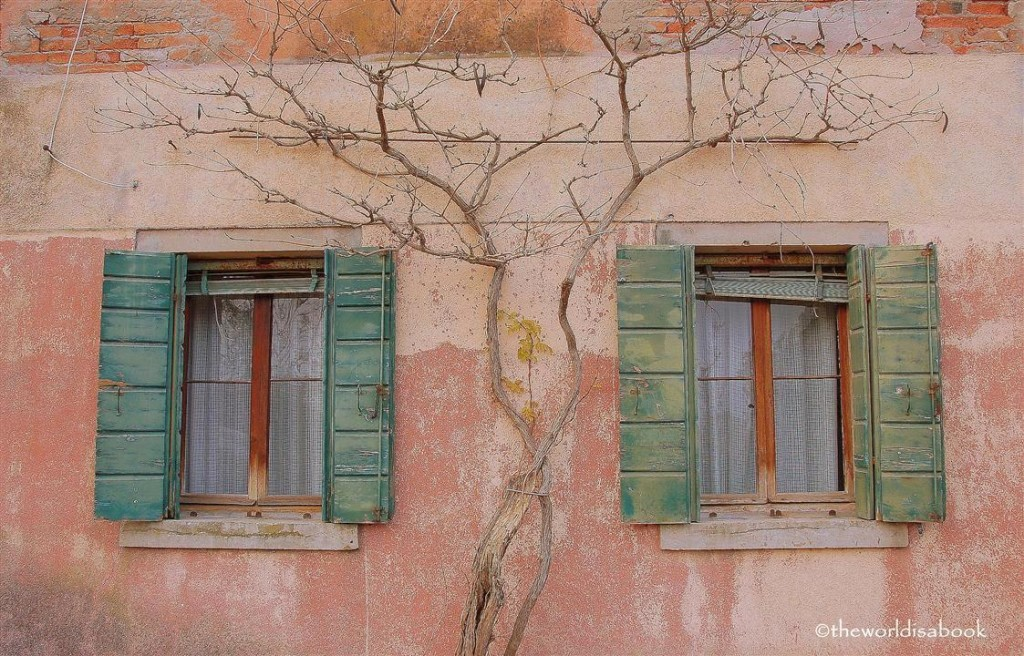 Torcello Italy building windows image