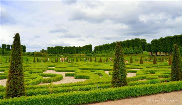 Frederiksborg slot castle Garden