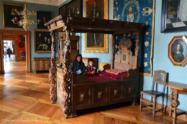 Frederiksborg slot bedroom image
