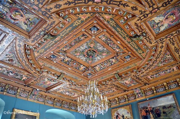 Frederiksborg slot ceiling