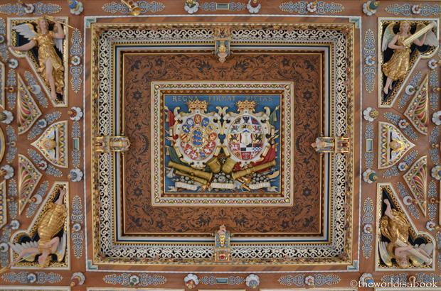 Frederiksborg castle slot ceiling