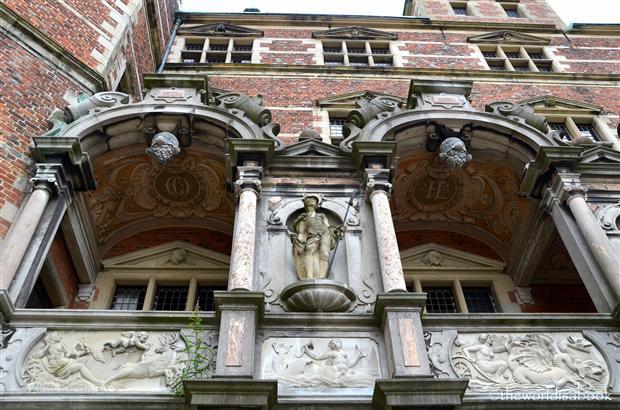 Frederiksborg castle facade