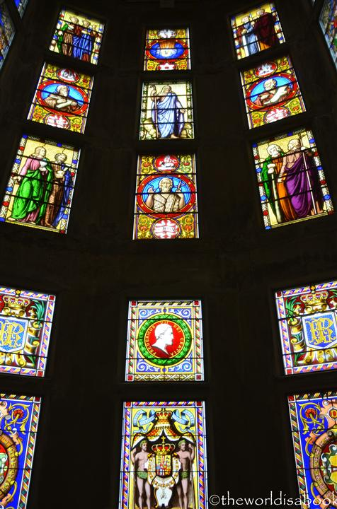Frederiksborg castle stained glass
