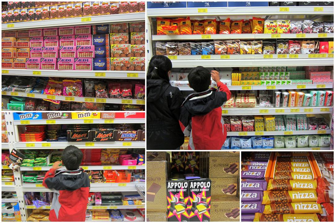 Iceland Candy aisle